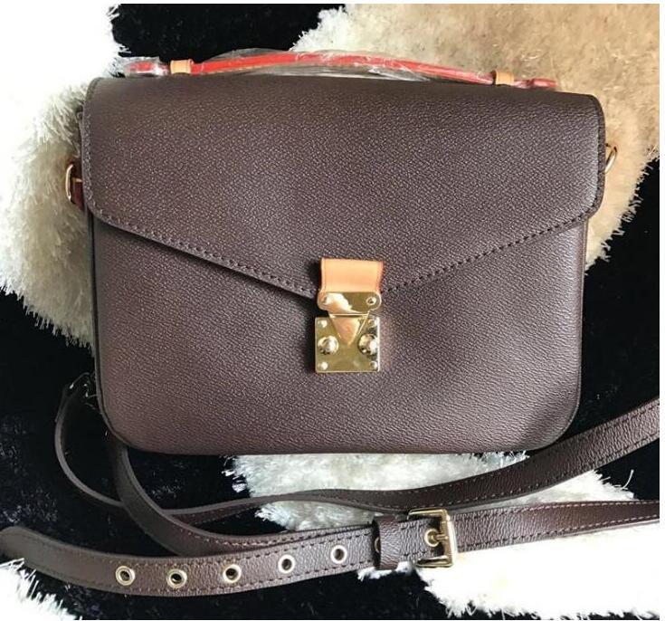2020 Nuevo Bolso de mujer de cuero de alta calidad Pochette Metis Bolsos de hombros Bolsos Crossbody Messenger BAGM40780 G857-AQ