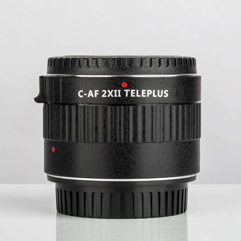 VILTROX C-AF 2X Magnification Extender Auto Focus Mount Lens for Canon EOS EF Lens for Canon EF DSLR Camera