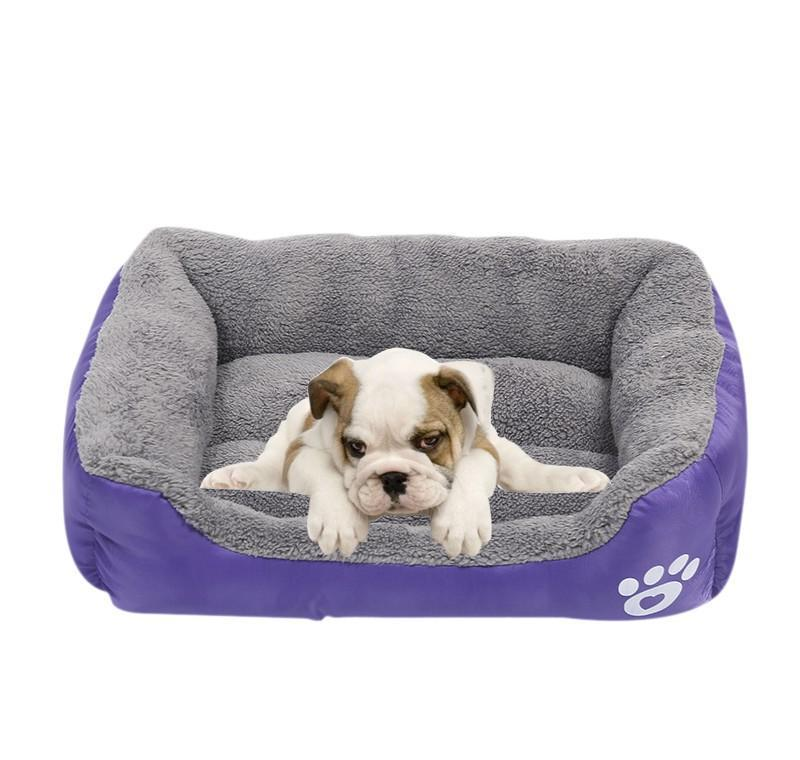 Large Dog Pets Cat Waterproof Soft Warm Beds Doghouse Kennel jllKvo bdedome