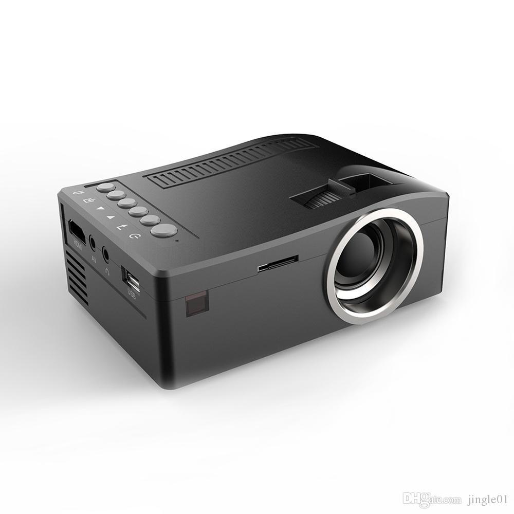 Nouveau projecteur MINI UC18 MINI UC18 MINI PROJECTEUR PORTATEUR PORTABLE PORTABLE MULTI-MEDIA MEDIA HOME Théâtre Game Prend en charge HDMI USB