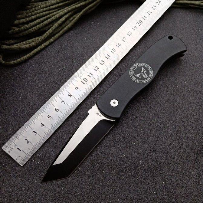 PROTECH CQC7 단일 작업 전술 자기 방어 접는 사냥 포켓 EDC 나이프 캠핑 나이프 사냥 칼 크리스마스 선물 a3142