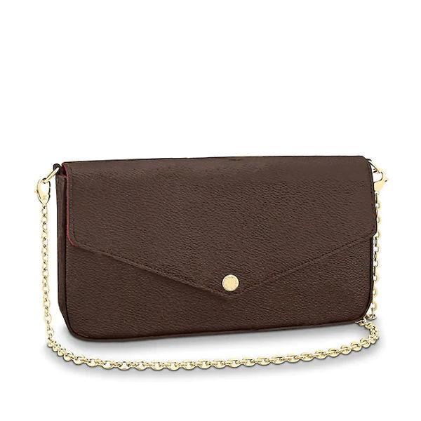Femme sac sac à main sac à main coffre original Code de la date de la mode Vendeur en gros Checker Plaid Flower