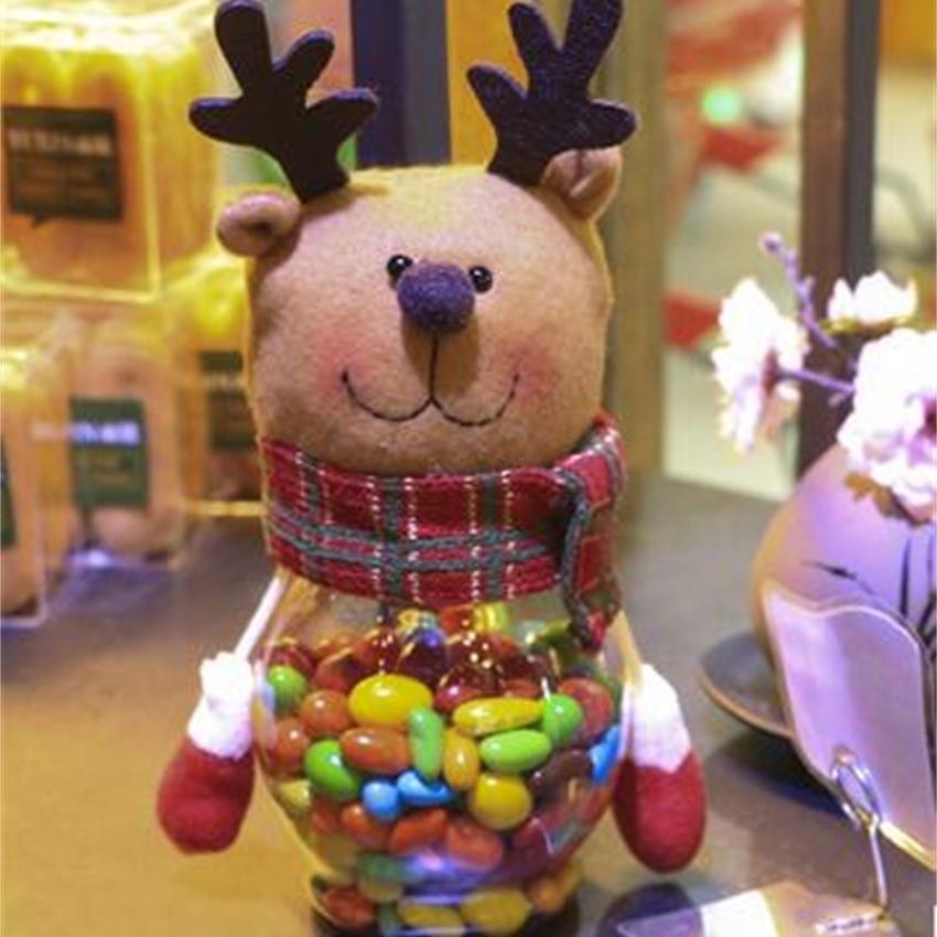 küçük çocuklara hediyeler Noel Şeker kavanoz süslemeleri