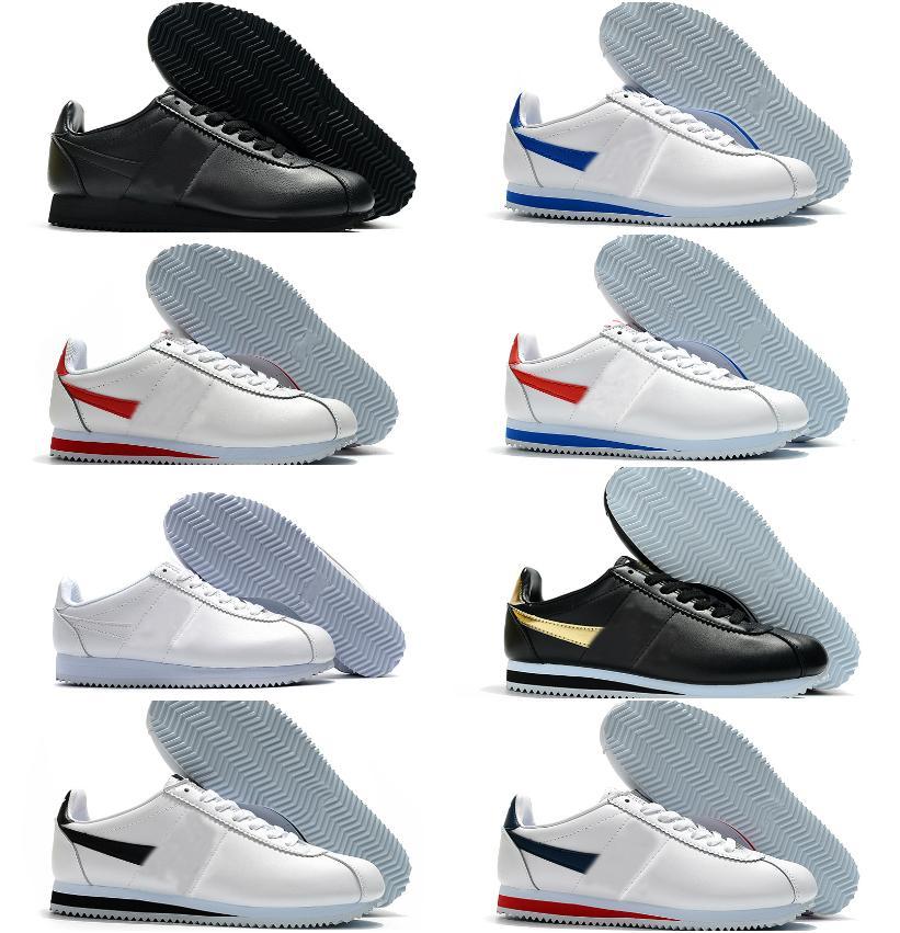 Top Qualité Classic Cortez Nylon RM Chaussures de course Rose Noir Triple Blanc Blanc Blanc Blanc Léger Chaussures Cortez Cuir BT QS Sneakers