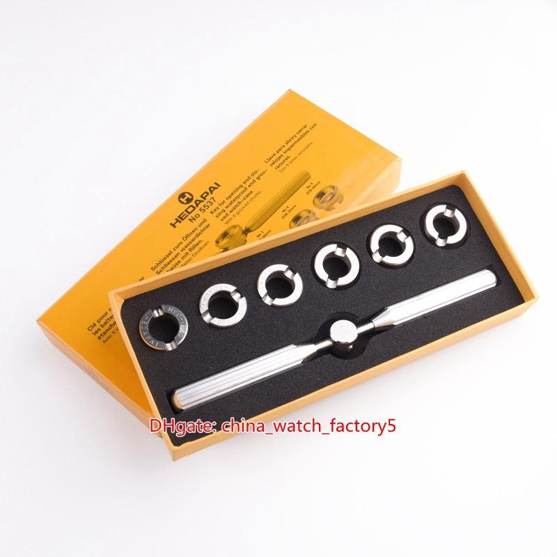المهنية أدوات الفتاحة المهنية رقم 5537 NO5537 18.5 ملليمتر 20.2 ملليمتر 22.2 ملليمتر 26.5 ملليمتر 26.5 ملليمتر 28.3 ملليمتر 29.3 ملليمتر 29.5 ملليمتر 23x9.5x30cm 316 الصلب ساعات أدوات إصلاح مجموعات
