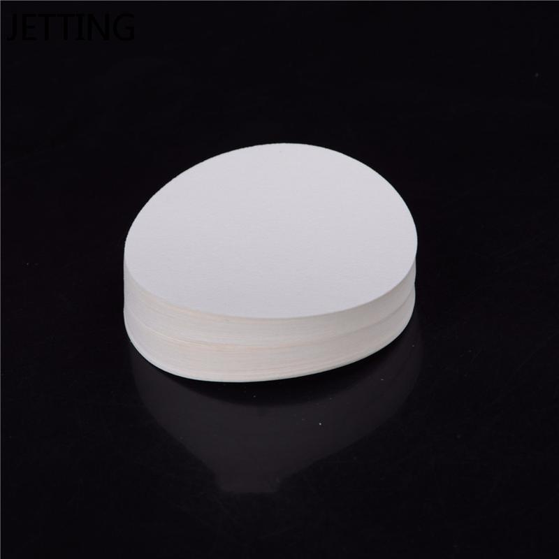 100pcs/bag 9cm Round Filter Paper Qualitative Filter Paper Medium Speed Funnel Filter Paper Laboratory jlliuo
