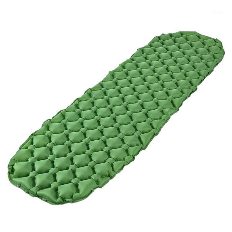 Наружные колодки надувной сонный коврик для кемпинга Матрас рулона Компактная и влажность для пеших прогулок, Рюкзак, Гамака, палатка