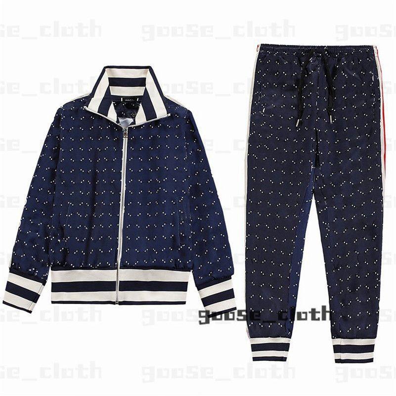 Novos 21ss Mens Womens Designers Tracksuit Suites Ternos Homens Trilha Suor Terno Casacos Homem Tracksuits Jackets Sweatshirt Sportswear 2021