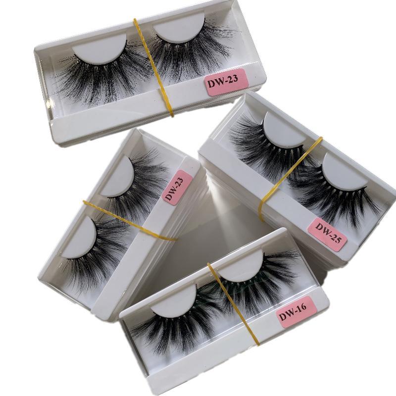 20 styles 25mm 3D Mink Eyelash Eye makeup Mink False lashes Soft Natural Thick Fake Eyelashes Eye Lashes Extension