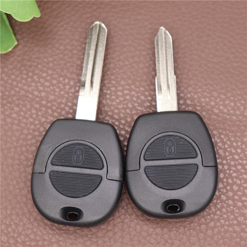 для Nissan Key Shell 2 Замена кнопки Авто Car Case FOB Обложка для Nissan Micra Almera Primera X-Trail