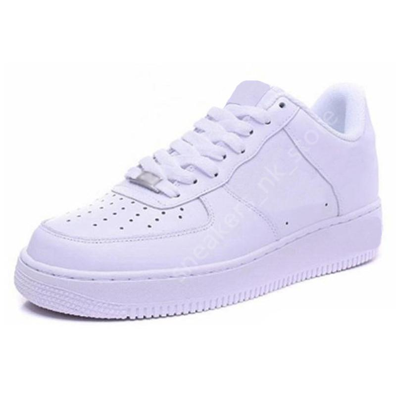AF1 force 1 One Men Running Shoes des chaussures High Low Triple White Black Brown sandal Outdoor Sports Women Mens Trainers Sneakers