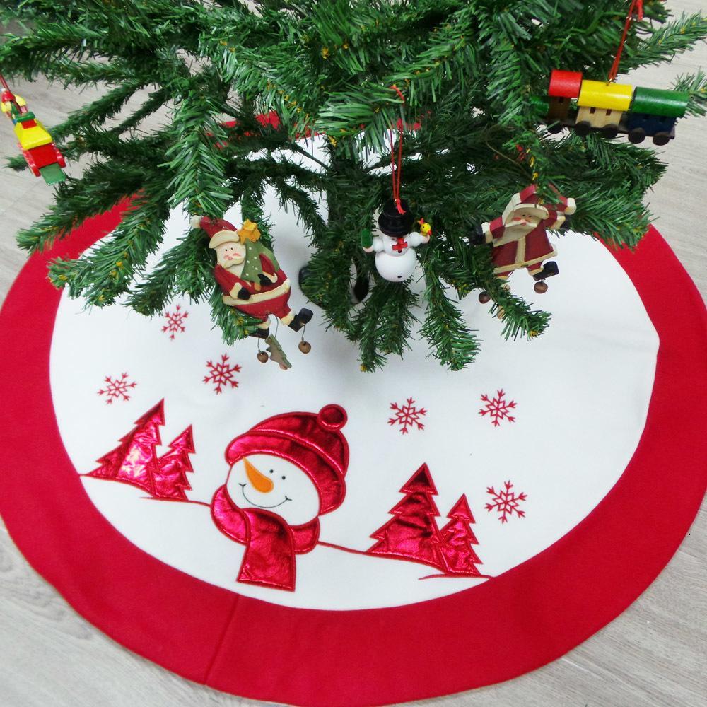 a buon mercato Stock Decorative albero di Natale gonne