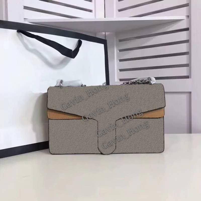 Новейшие дизайнерские сумки Black цепи цепи на плечо 28 см 20 см женщин дизайн сумки подлинные кожаные сумки для поперечины женщины маленькая мини-сумка кошелек