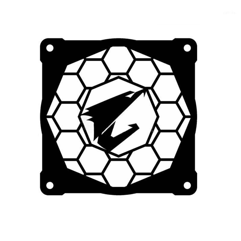 팬 냉각 컴퓨터 구성 요소 AORUS 팬 커버 12cm 냉각 렌 닉 장식 수냉식 액세서리 1