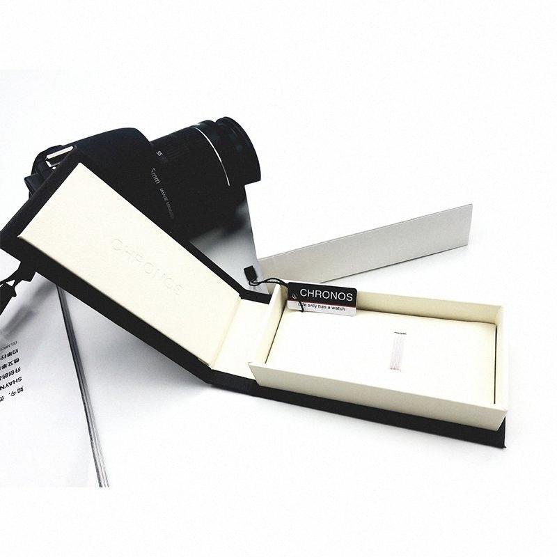 Chronos Özel İzle Hediye Kutusu Moda İzle Kutusu W2Em # Kağıt Jenerik Watchcase Vaka Saatler Lüks Paketleme için
