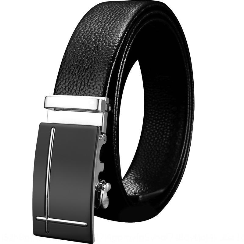 cuir première couche pour le cuir pour le simple loisir d'affaires pour hommes et polyvalent ceinture de ceinture et jeunes hommes d'âge moyen blk9i
