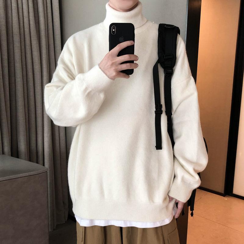 Privathinker новый мужской зимний теплый свитер Корейский Streetwear Мода Пуловеры свитер Casual Male Одежда 201019