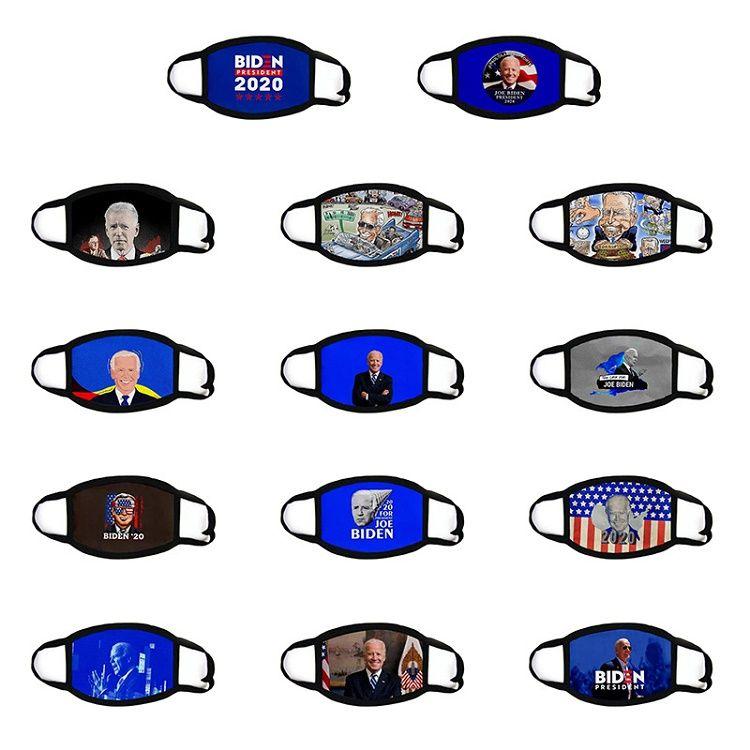2020 Seçim Trump Pamuk Maske Keep Amerika Büyük Yine Cosplay Biden Parti Yüz Maskeleri Karşıtı Toz Kirliliği Ağız Kapağı