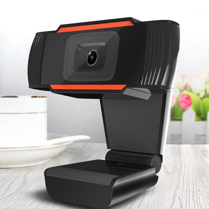 Miracare 30 grados giratorias 2.0 HD webcam 1080p Cámara USB Cámara web de grabación web con micrófono para PC Computadora webcam1