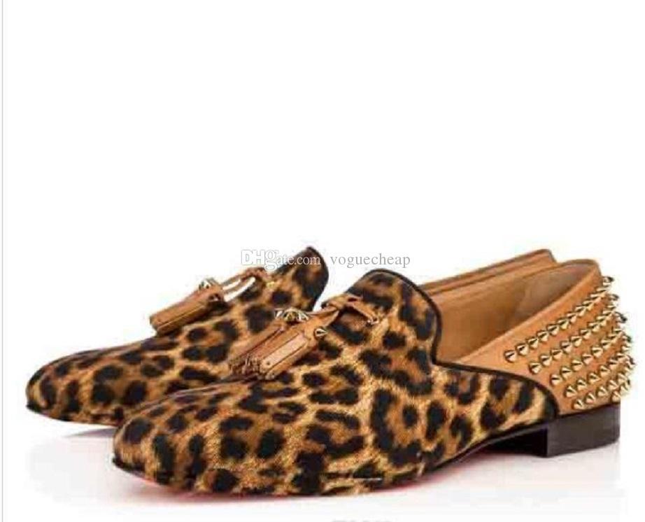 الأزياء tassilo جلد أحذية رياضية شقة أحمر أسفل للنساء الرجال الانزلاق على عارضة شقة فاخر مصمم سكيت الشقق حزب اللباس المتسكعون