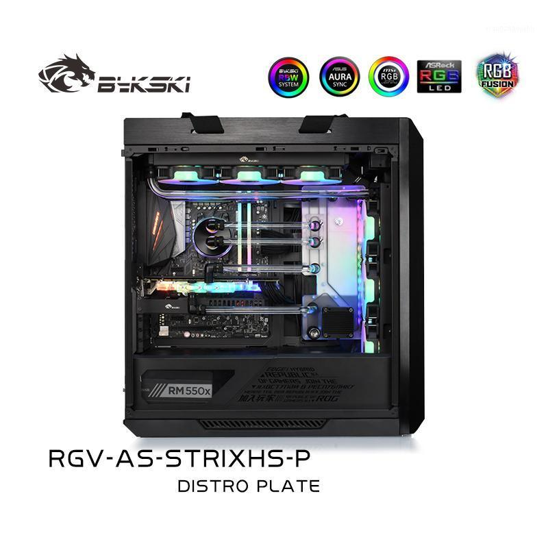 Bykski Acrylic Waterway Board Water Cooling Case Solution RGB / A-RGB Lighting For ASUS ROG STRIXHS Chassis RGV-AS-STRIXHS-P1