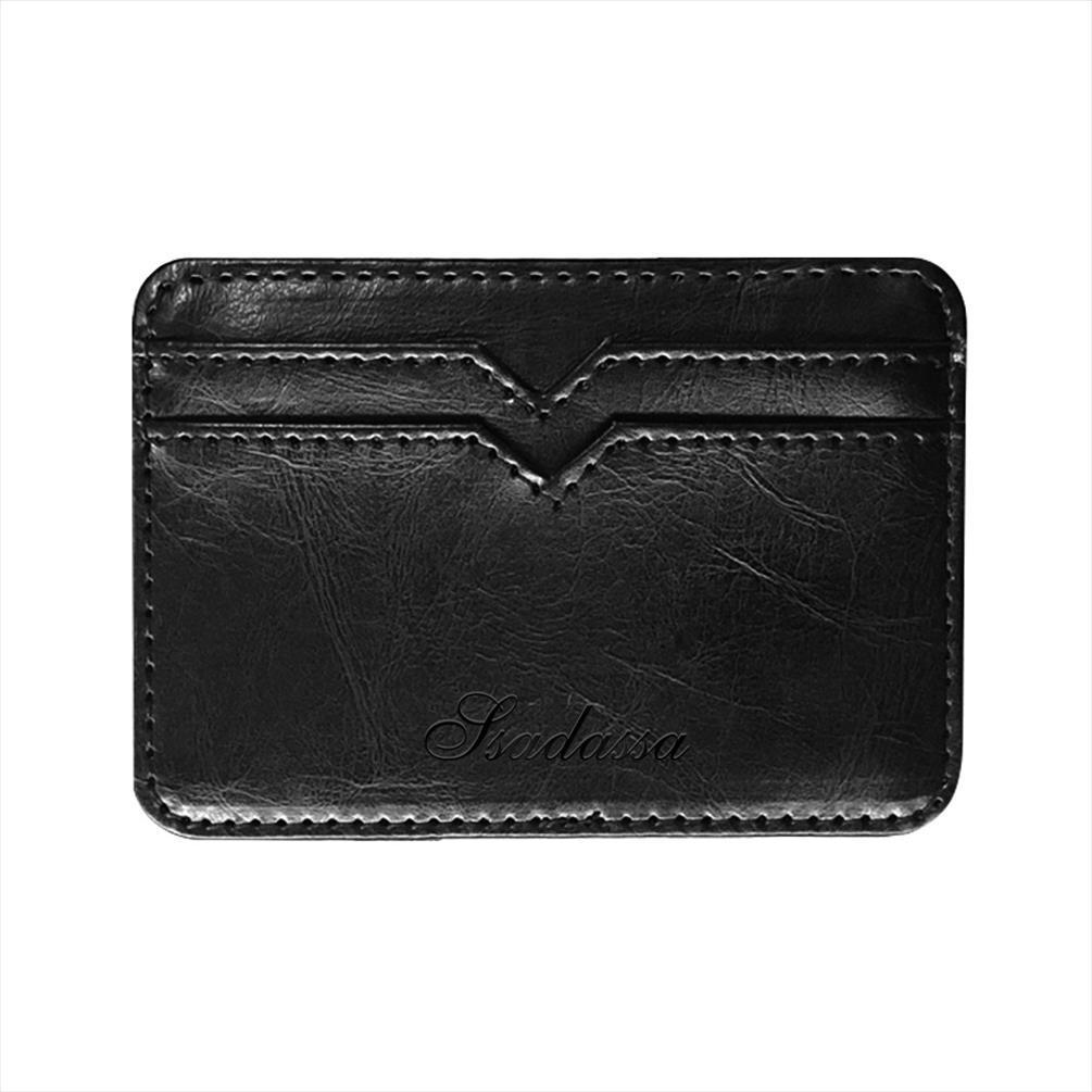2019 Mão Moeda Dinheiro Pequeno Couro Mágico Carteira Pocket Cash com novo mini bolsa para moda cartão de crédito saco clipe homem titular bsflv