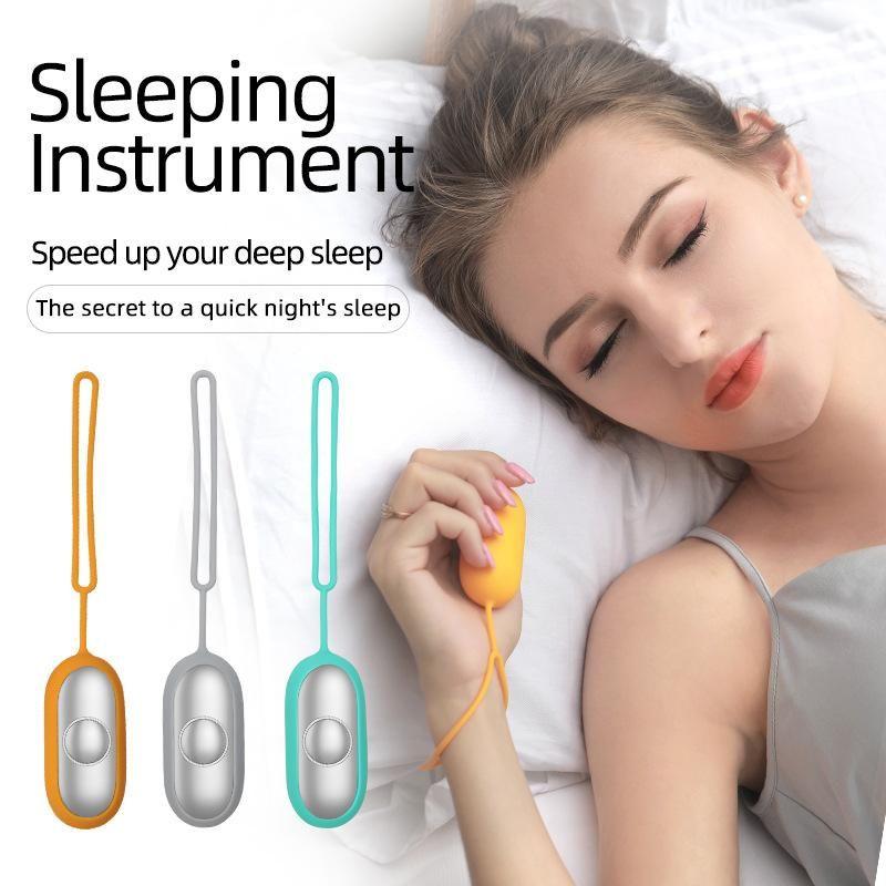 Электрический портативный мини Microcurrent Импульсный массажер, чтобы помочь сна для релаксации тревоги депрессии и бессоннице машины