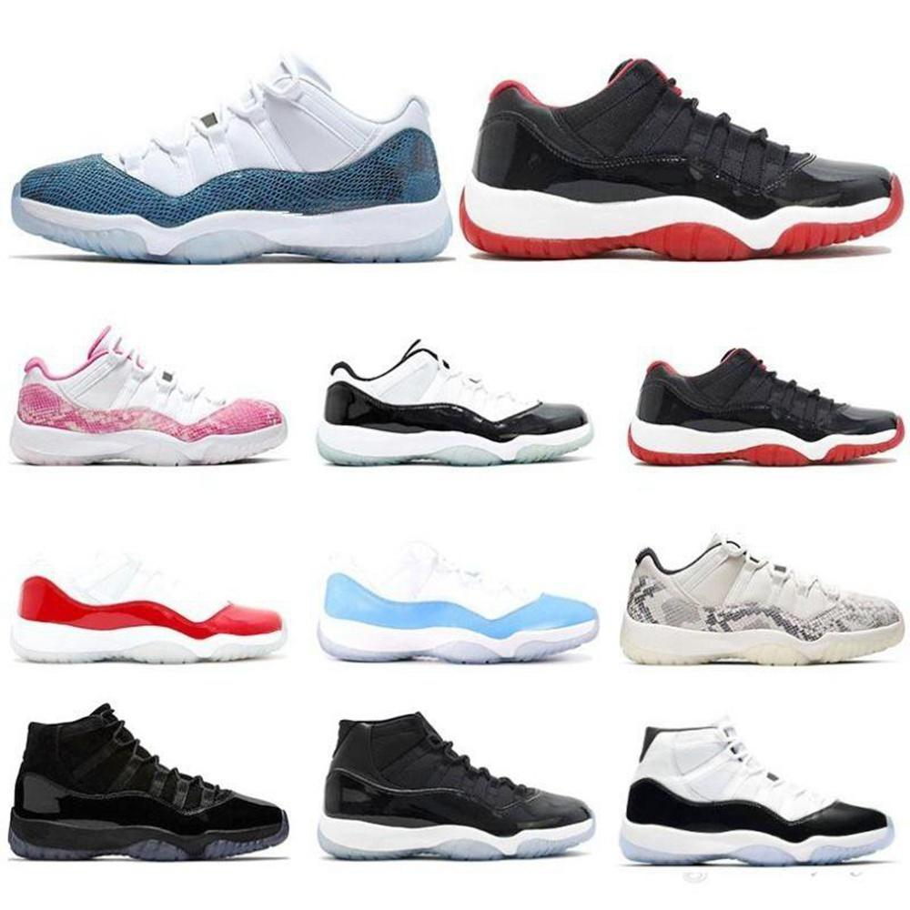 Top chaussures de basketball 11 11s Concord High 45 xl Hommes Snakekin Vaste Gris Concord 45 23 Gamma Bleu Gym Rouge Chicago Femme Sneaker Sneaker