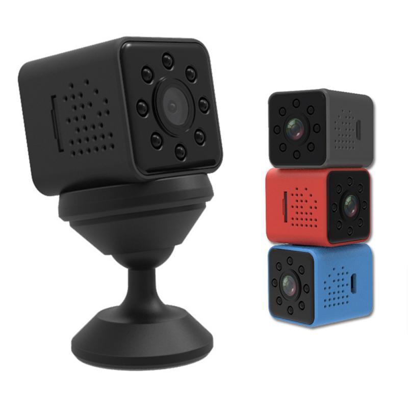 미니 카메라 1080P HD 공중 카메라 스포츠 전문 방수 슈퍼 적외선 야간 비전 지능형 모션 감지