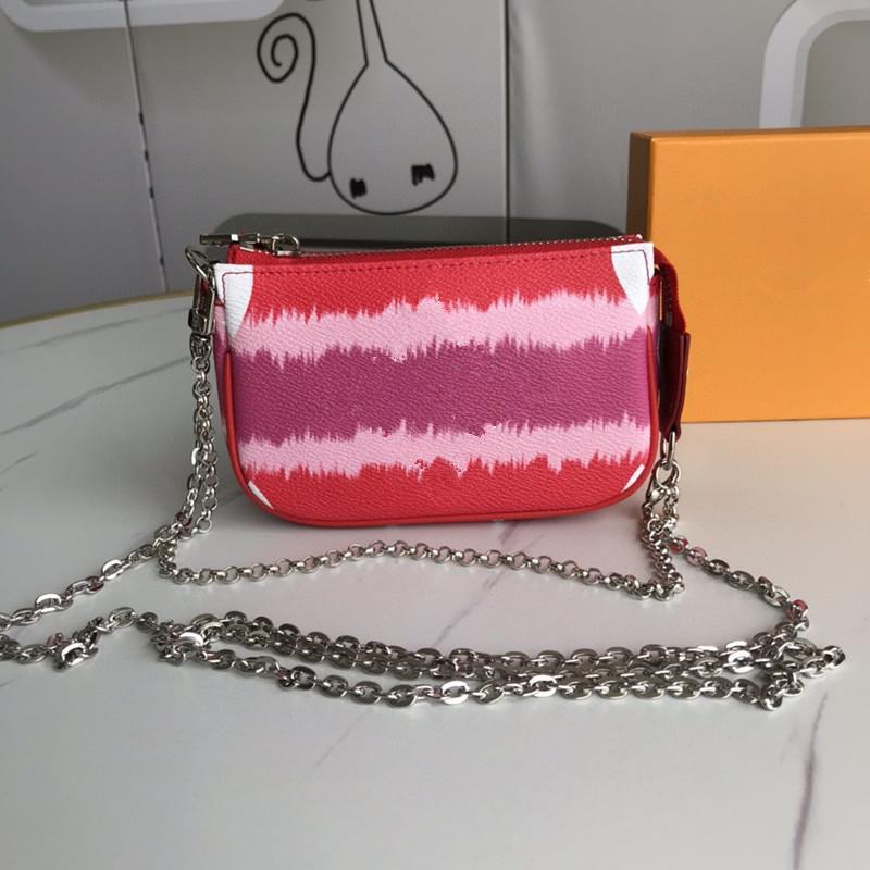 Escale Bolsa Mulheres Bolsa Mini Mini Designer Cluting Hobos Saco De Prata Cadeia New Tie Dye Série Gigante Sacos Pequenos