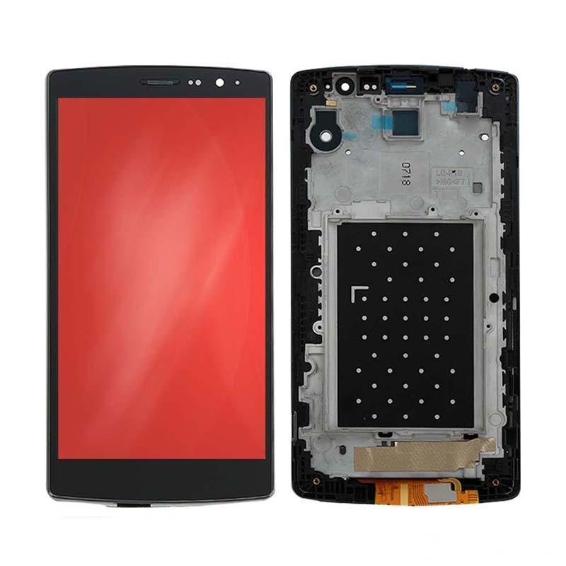 Vente en gros pour LG G4 Mini G4S H735 H736 LCD Écran tactile Digitizer Assemblée Replacment 5.2inch écran complet Cadre meilleure qualité
