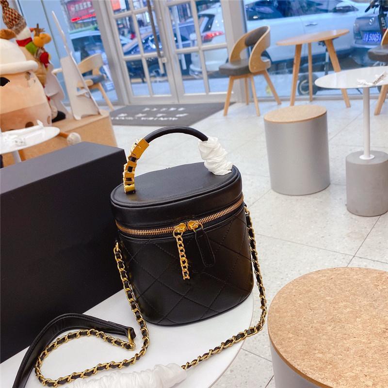 Bucket Bag Black Purse Handbags Women retro Cross Body Bags With Chain Top Quality Small Shoulder Handbag for Lady