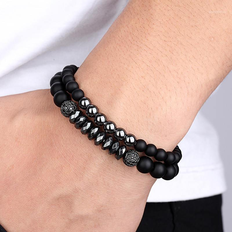2020 Braccialetto Naturale 8mm Stone Stone Stone Crystal Tension Setting Casual Sport Sport Sport-up Unisex Rame Braccialetti Braccialetti Braccialetti Trendy1