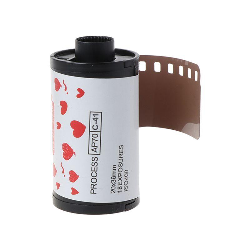 Camera Film 35mm Color Print Films 135 Format Cameras Lomo Holga Dedicated ISO 400 18EXP factory supply