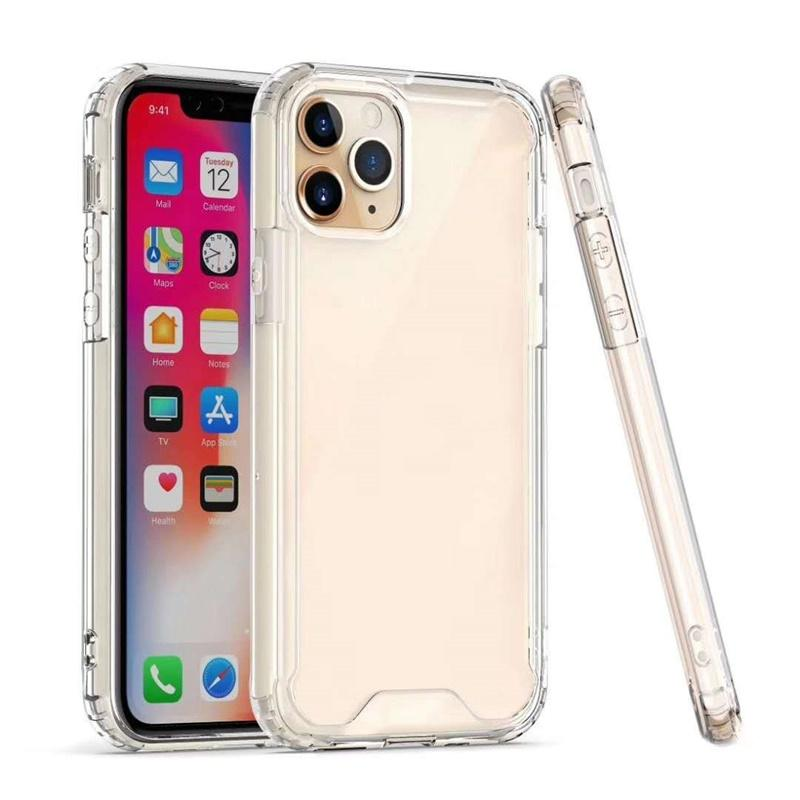 Clear Acrylic Silicone Cases For iPhone 12 Mini 11 Pro Max 6 7 8Plus XS XR Samsung S9 S10 S11 S105G