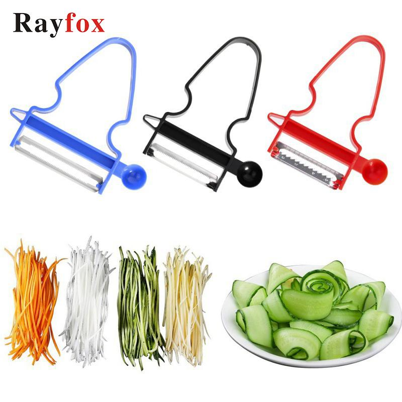 Kitchen Accessories 3pcs set Multi-purpose Vegetable Fruit Peeler Tools Grater Potato Cutter Shredder Slicer Gadgets