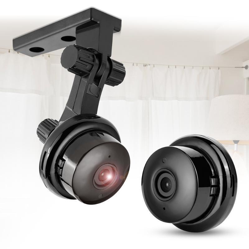 Accueil Sécurité MINI WIFI 720P Caméra IP sans fil Petit CCTV vision nocturne infrarouge de détection de mouvement wiith TF fente pour carte