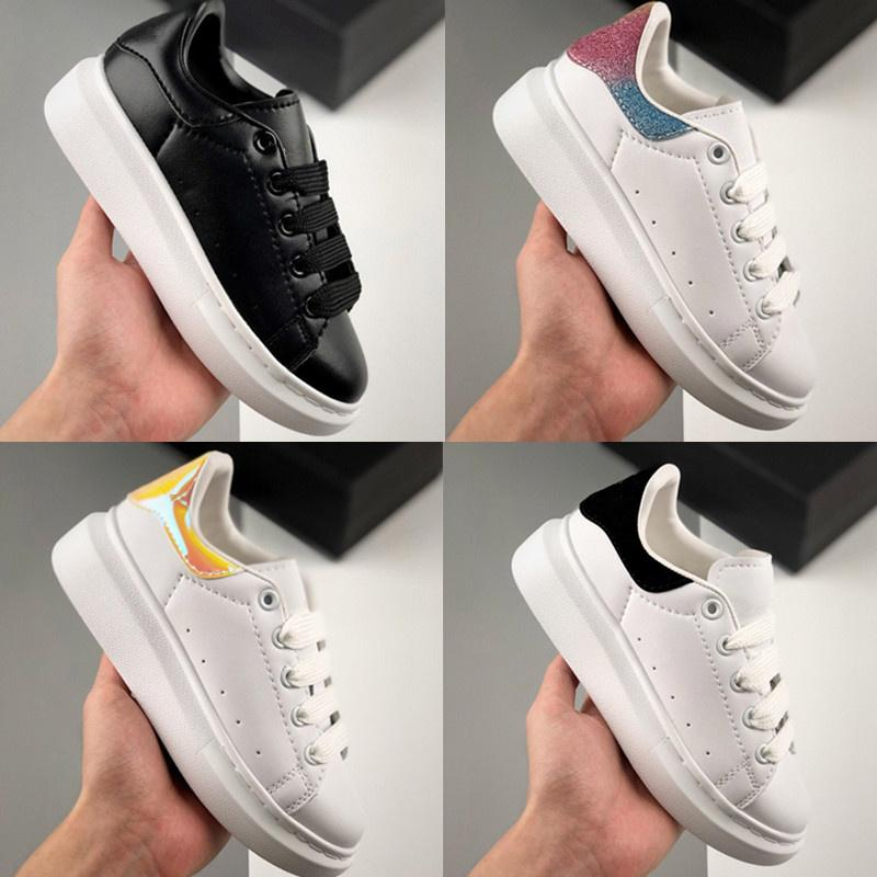 niños zapatos baratos Casual Best alta calidad muchachas del muchacho del partido zapatillas de deporte de moda de las plataformas deporte zapatilla de deporte de tamaño 24-35