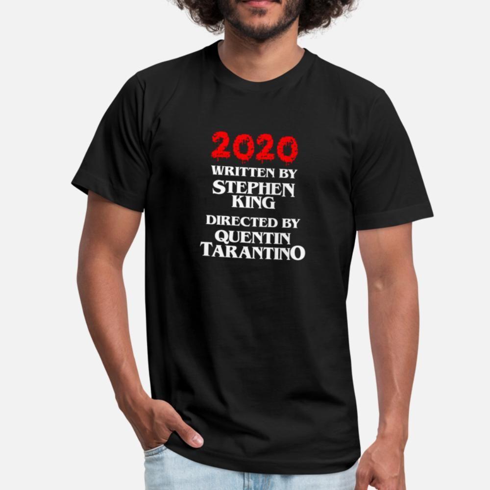 2020 Escrito por Stephen King dirigido por Quentin T Shirt Cool Anime Custom Tracksuit Hoodie Moletom