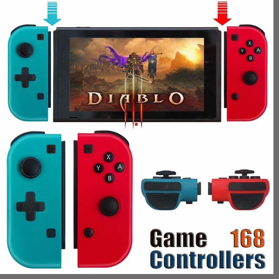 168D 무선 블루투스 Gamepad 컨트롤러 닌텐도 스위치 콘솔 스위치 Gamepads 컨트롤러 조이스틱 Joy-Con과 같은 Nintendo 게임