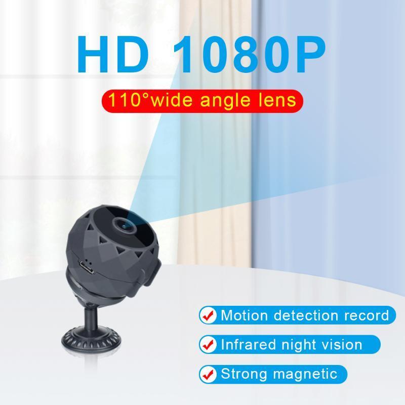 HD 1080 P Mini Kamera Casus Gizli Kamera Casus Gece Görüş Hareket Sensörü Gizli Camara Espia Küçük Mikro Vücut Cam