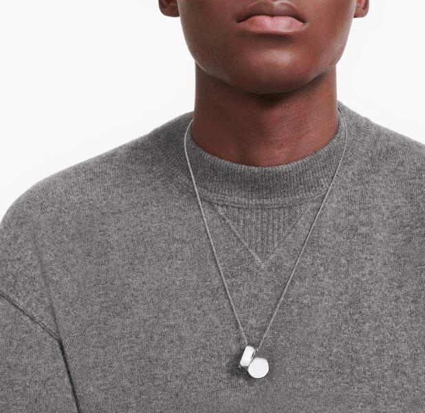 Nueva moda calle colgante collares venta caliente collar para hombre mujer colgante collar joyería superior calidad 2 colores