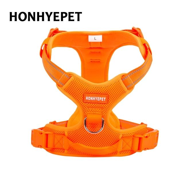 Truelove Pet Harness Big Medium Dog Brustgurt Explosionsgeschützte Teddy Kleiner Hund Golden Retriever Hund Entwickelt für Outdoor-Sicherheit 1020