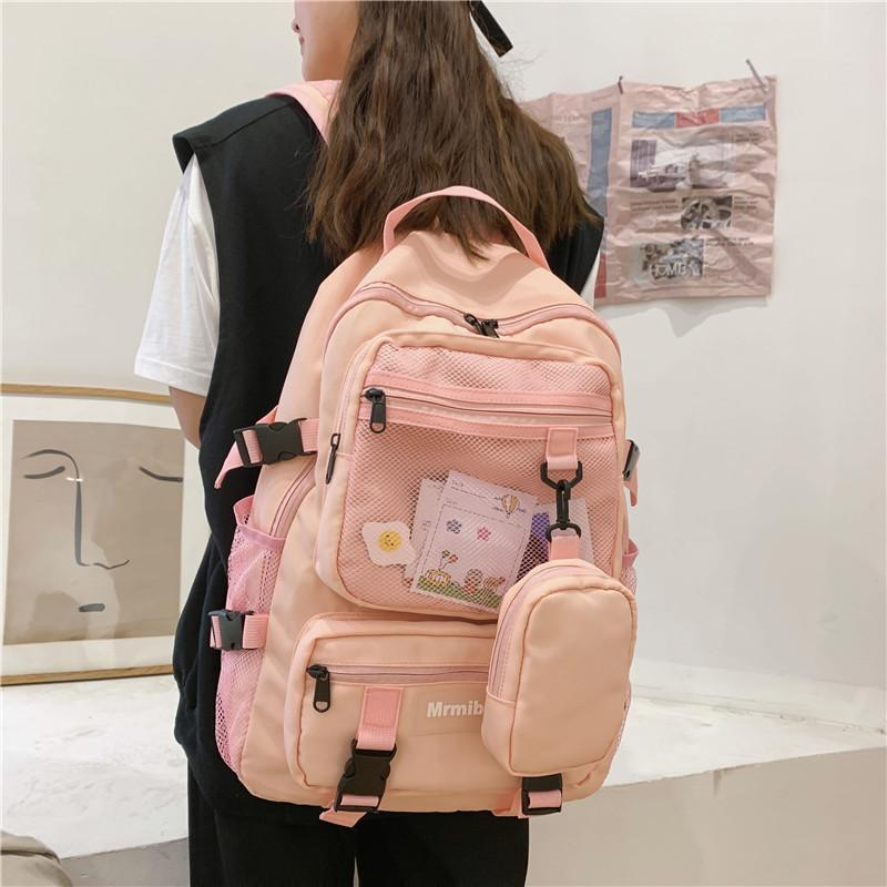 Oxford New Fashionable Large Capacity School for Teenage Girls High Quality Female Backpack Travel Women Bag Q1113