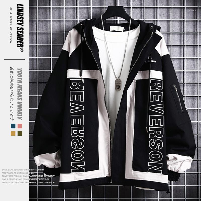Erkek Ceketler Lindsey Seader Harajuku Ceket Rüzgarlık Erkekler Hip Hop Streetwear Kapşonlu Sonbahar 2021 Casual Hoodie Coat Hipster1