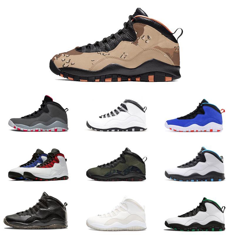 10 10s Homens tênis de basquete Westbrook turma de 2006 aço arrefecer cinza infravermelho Im volta instrutor Sports Sneakers 7-13 frete grátis