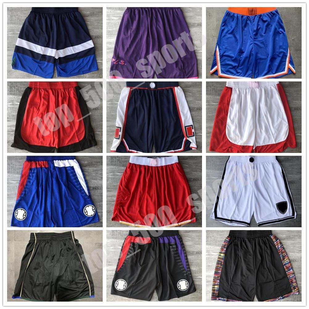 Qualidade máxima ! Time basketball shorts homens shorts esporte shorts calças faculdade verde branco azul vermelho preto ed