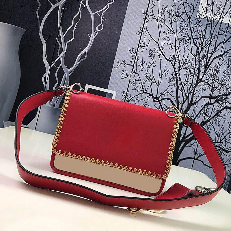 Hebilla Handbags Cknce Cuero Hombro Cuero 2020 Moda Marca Designers 2021 Lujos Embrague Nuevo Bolsas originales Bolsas Bolsos Bagos RTGJ