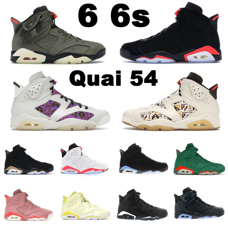 6 6s Jumpman 농구화 Sail Brown Black Infrared 23 White Sport Blue UNC Hare Washed Denim mens trainers outdoor sports sneakers