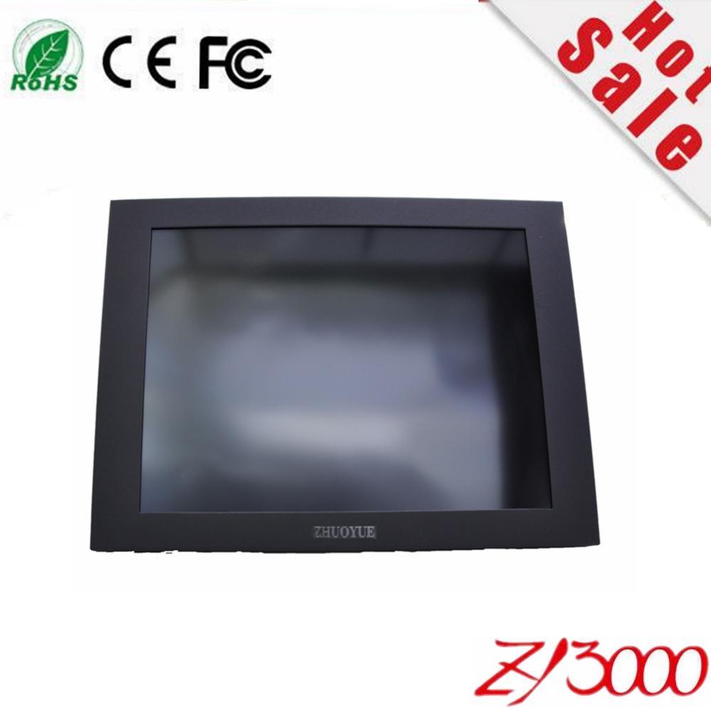 Vendita stock ottimo prezzo ottimo 10.4 pollici Cornice aperta 4: 3 Forte involucro metallico in metallo Monitor touch screen resistivo per PC